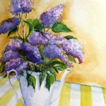 Lilac on Table