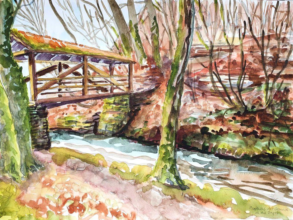 Brücke über Gronach