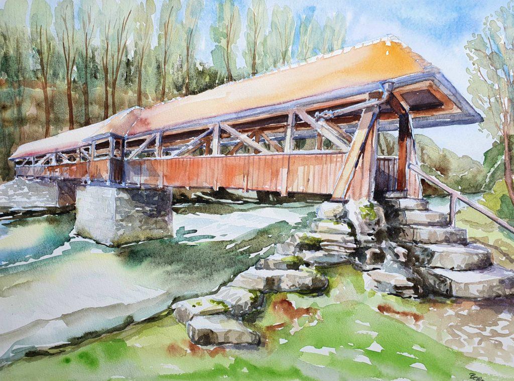 Jagstbrücke an der Heinzenmühle