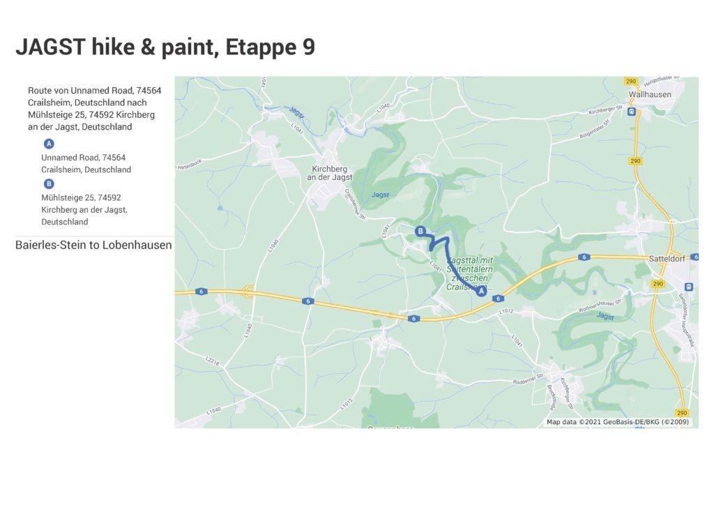 Map Etappe 9