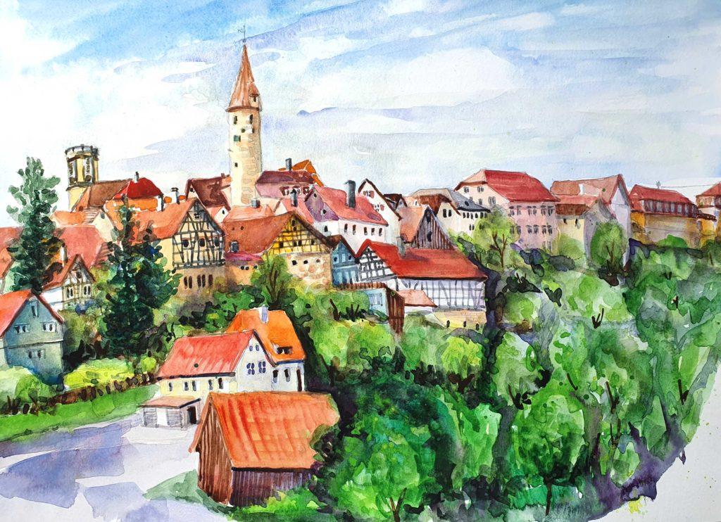Kirchberg Panorama